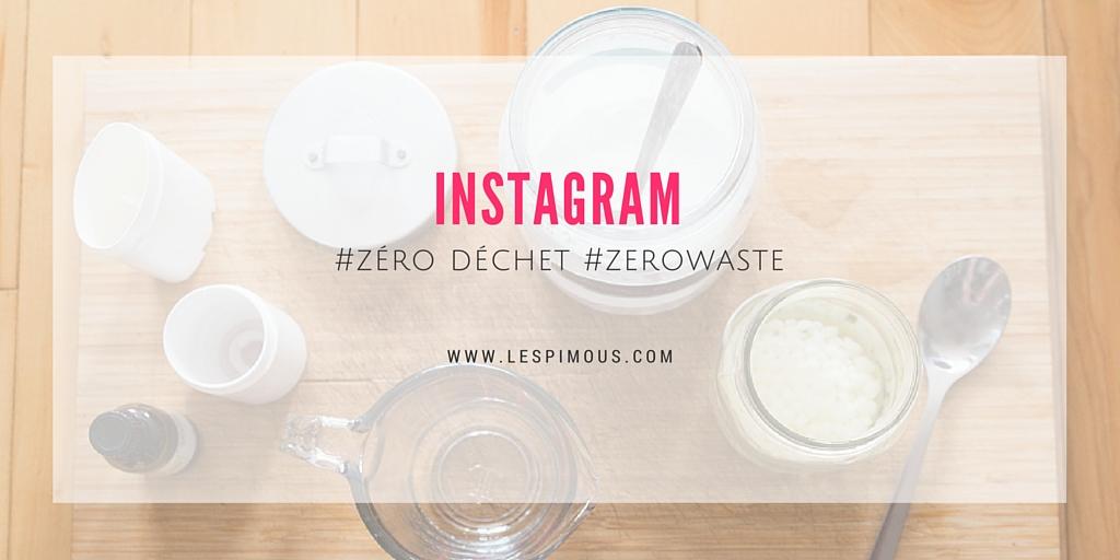 instagram zéro déchet