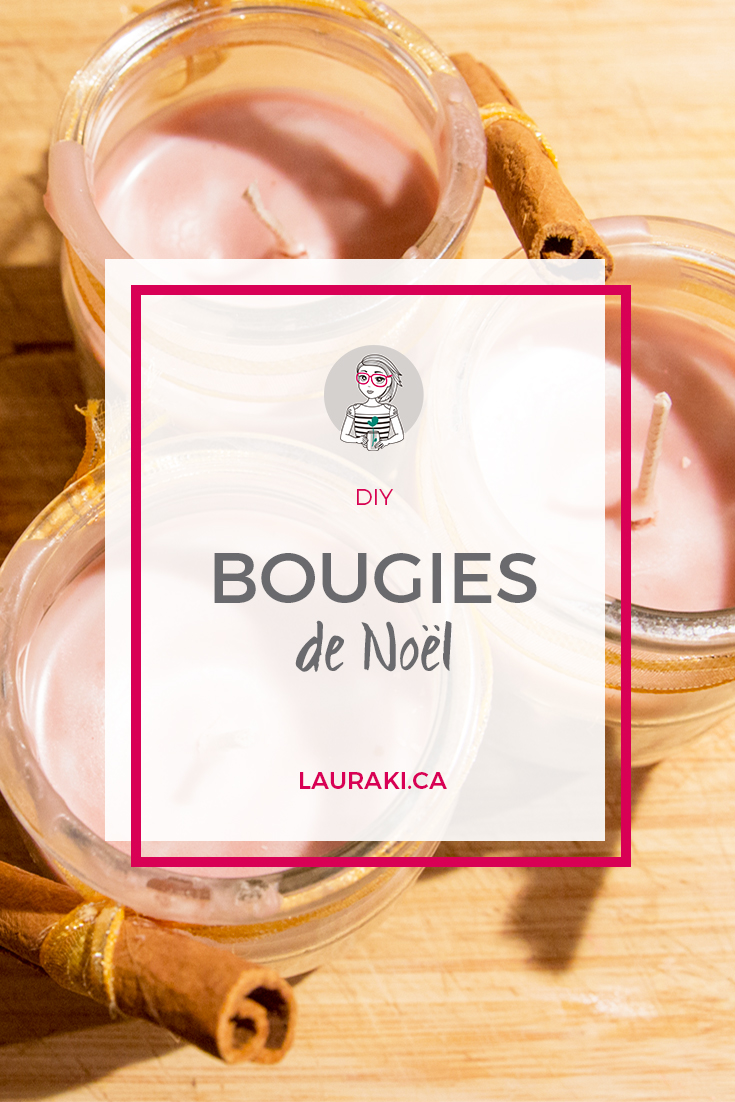 DIY Bougies de Noël | DIY Chistmas Candles