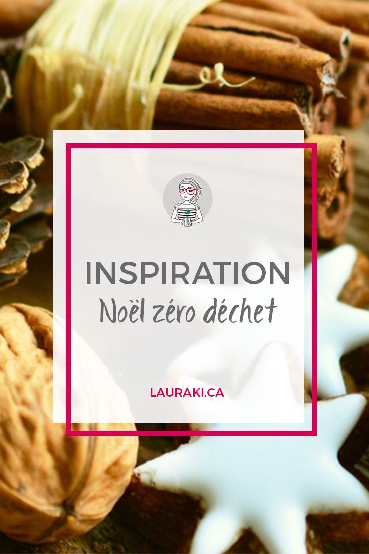 Inspirations pour un Noël zéro déchet | A zero waste Christmas #zerodechet #noel #chistmas