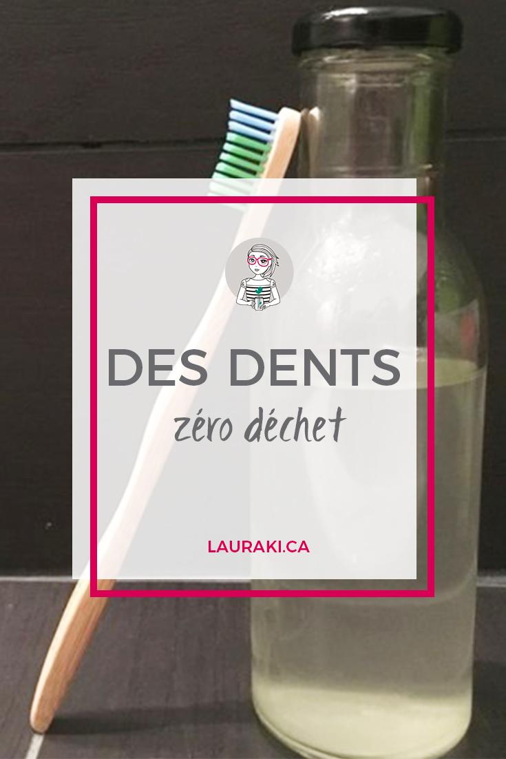 Pour des soins des dents zéro déchet || For Zero Waste tooth #zerodechet #sante #zerowaste #health #dentifrice #toothpaste