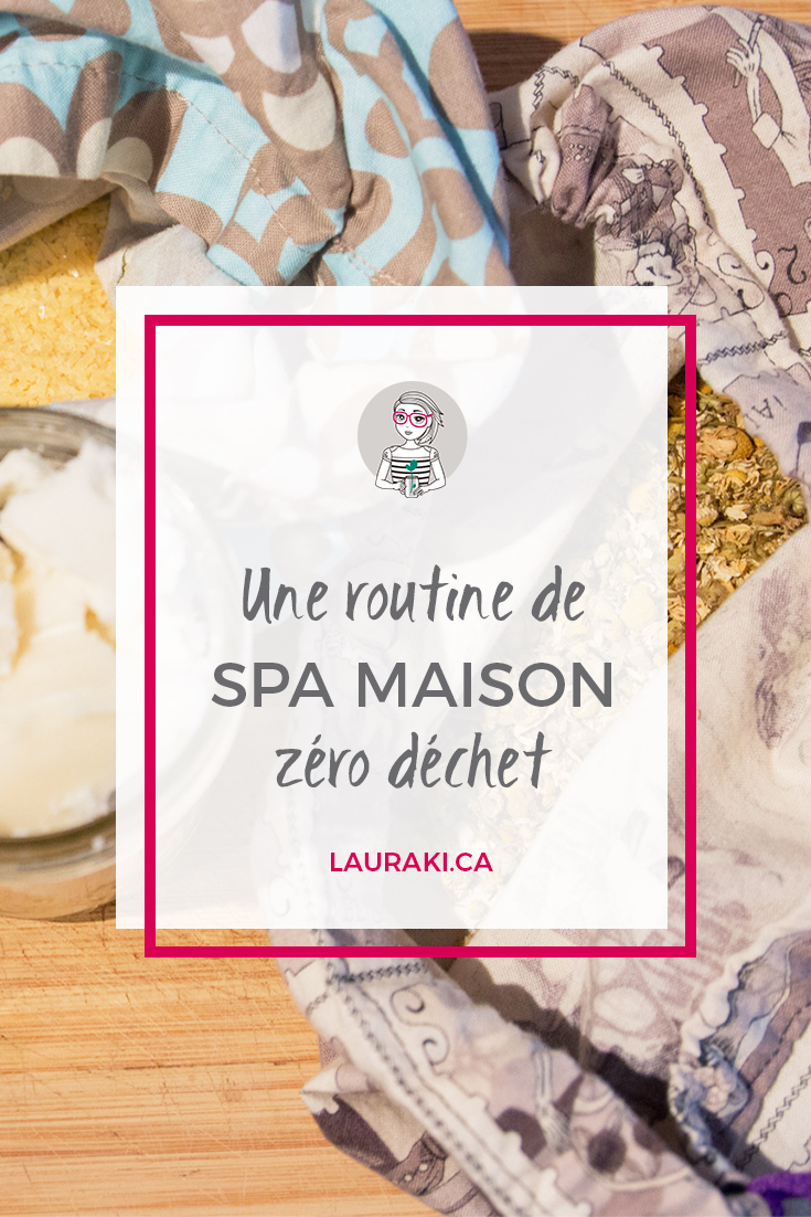 Une routine détente digne d'un spa et zéro déchet juste pour vous || How to recreate a Zero Waste spa at home for one hour #zerodechet #beauty #zerodechet #zen